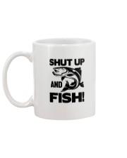 Shut up And Fish - Fisherman Mug back