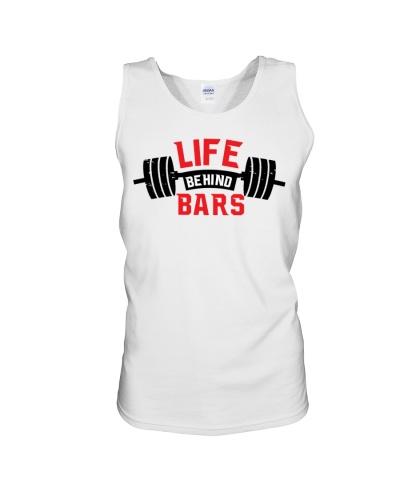 Life Behind Bars Gyming Fitness Tanktop