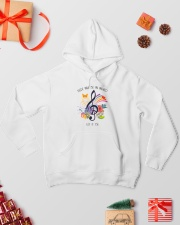 There Will Be An Answer 004 Hooded Sweatshirt lifestyle-holiday-hoodie-front-2