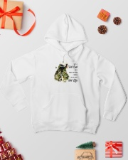 She's A Wild Child 001 Hooded Sweatshirt lifestyle-holiday-hoodie-front-2