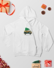 The Most Wonderful Time Of The Year A0077 Hooded Sweatshirt lifestyle-holiday-hoodie-front-2