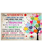 Dear Students poster 17x11 Poster front