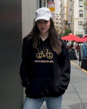 Life Is A Beautyful Ride Hooded Sweatshirt lifestyle-unisex-hoodie-front-5