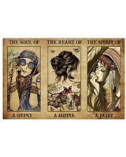 A Gypsy - A Hippie - A  Fairy 36x24 Poster front