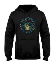 A Girl And Her Animals 001 Hooded Sweatshirt front