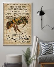 What A Wonderful World Bee 24x36 Poster lifestyle-poster-1