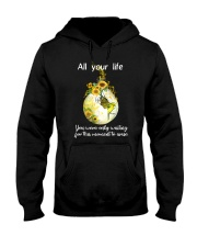 All Your Life 006 Hooded Sweatshirt front