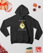 All Your Life 006 Hooded Sweatshirt lifestyle-holiday-hoodie-front-2