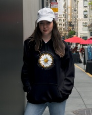 She's A Wildflower Hooded Sweatshirt lifestyle-unisex-hoodie-front-5