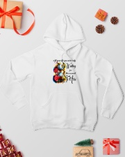 All your life 002 Hooded Sweatshirt lifestyle-holiday-hoodie-front-2