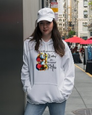 All your life 002 Hooded Sweatshirt lifestyle-unisex-hoodie-front-5