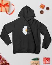 And i think to myself what a wonderful world Hooded Sweatshirt lifestyle-holiday-hoodie-front-2