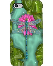Dragonfly Lotus Phone Case i-phone-8-case