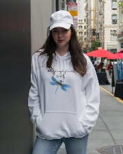 Dragonfly Whisper Words Of Wisdom Let It Be Hooded Sweatshirt lifestyle-unisex-hoodie-front-5