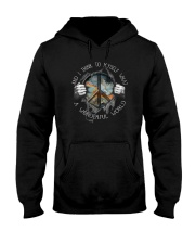 And I Think To Myself 004 Hooded Sweatshirt front