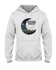 And Into The Forest 003 Hooded Sweatshirt front