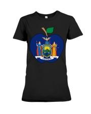 New York Teacher For National Teacher Day Shirt Premium Fit Ladies Tee thumbnail