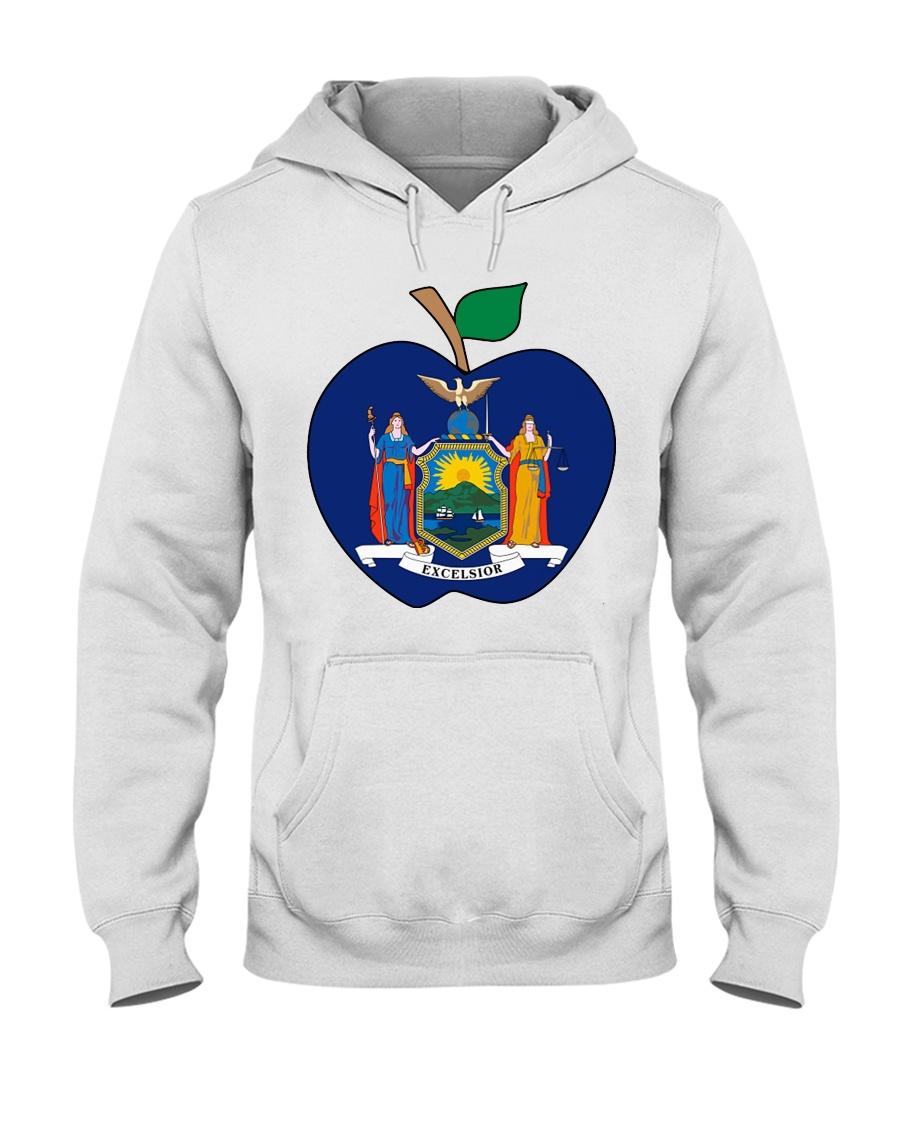 New York Teacher For National Teacher Day Shirt Hooded Sweatshirt