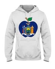 New York Teacher For National Teacher Day Shirt Hooded Sweatshirt front