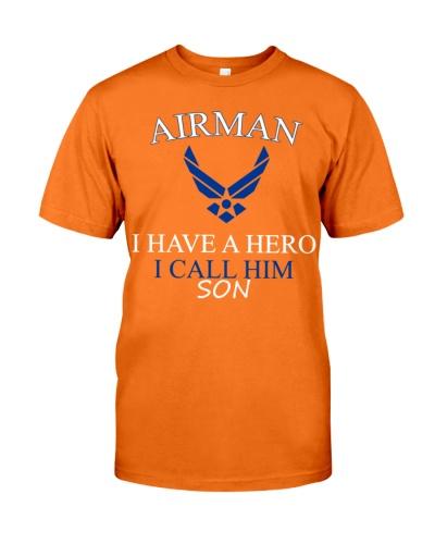 AIRMAN I HAVE A HERO I CALL HIM SON SHIRT