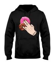 Only Human Donut Vagenda Shirt Hooded Sweatshirt thumbnail