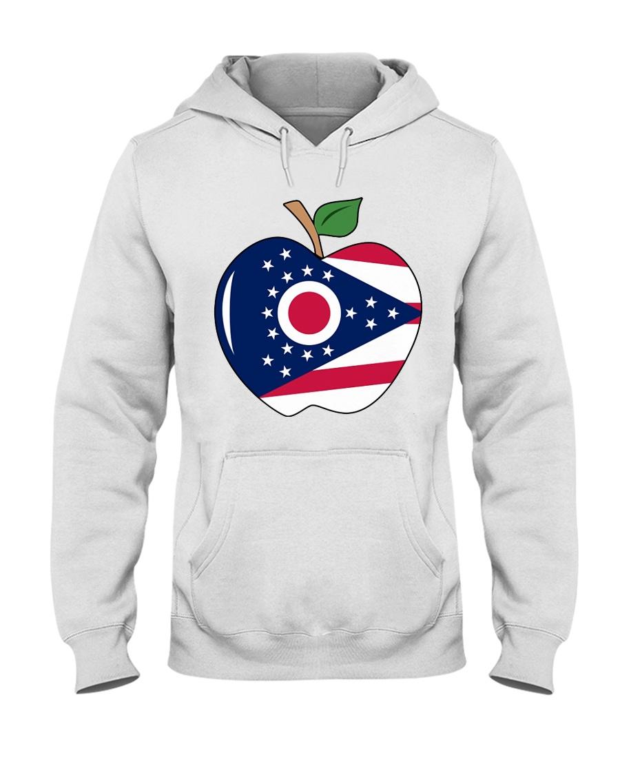 Ohio Teacher Shirt For national Teacher Day Hooded Sweatshirt