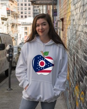 Ohio Teacher Shirt For national Teacher Day Hooded Sweatshirt lifestyle-unisex-hoodie-front-1