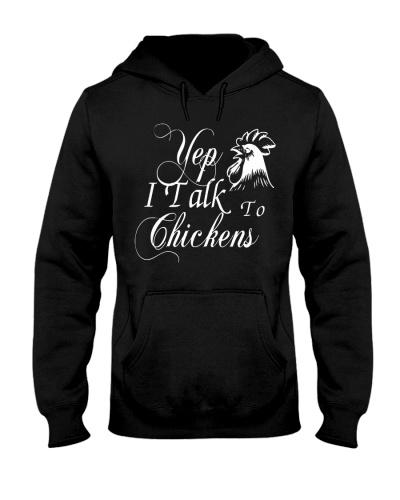 Yep I Talk To Chicken Shirt