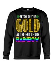 LuckyAnyone Gold Rainbow StPatricks  Crewneck Sweatshirt thumbnail