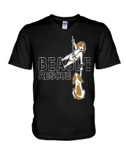 T-shirts Hoodie Sweater BEAGLE RESCUE V-Neck T-Shirt thumbnail