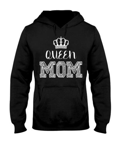 Queen Mom Hoodie sweathirt LsTshirt