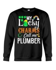 Plumber StPatricks day Crewneck Sweatshirt thumbnail
