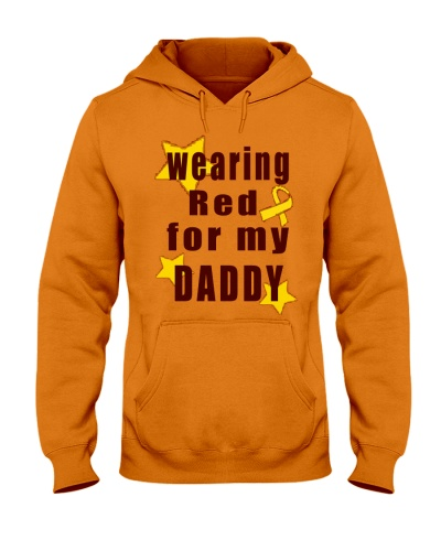 Wearing Red For My Daddy