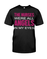 Nurse and Angels Classic T-Shirt front