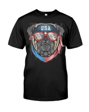 BULL DOG USA Premium Fit Mens Tee front