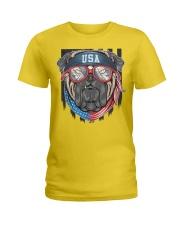 BULL DOG USA Ladies T-Shirt tile