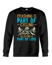 CRASHING IS PART Crewneck Sweatshirt thumbnail