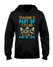 CRASHING IS PART Hooded Sweatshirt thumbnail
