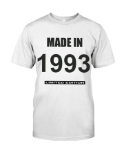 1993 Classic T-Shirt front