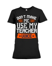 Teacher Premium Fit Ladies Tee thumbnail