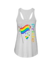 LGBT I'M Ladies Flowy Tank tile