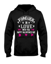 Forever in love Hooded Sweatshirt thumbnail