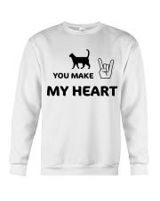 YOU MAKE MY HEART Crewneck Sweatshirt tile