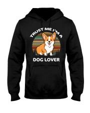TRUST ME I'M A DOG LOVER Hooded Sweatshirt tile