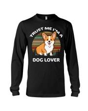 TRUST ME I'M A DOG LOVER Long Sleeve Tee tile