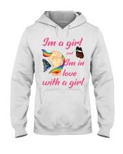 Lesbian Pride Hooded Sweatshirt thumbnail