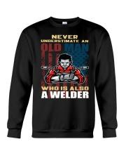 Never Understimate Crewneck Sweatshirt tile