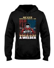 Never Understimate Hooded Sweatshirt front