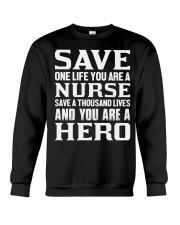 Nurse Hero Crewneck Sweatshirt thumbnail