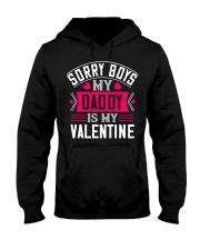 Daddy is my Valentine Hooded Sweatshirt thumbnail